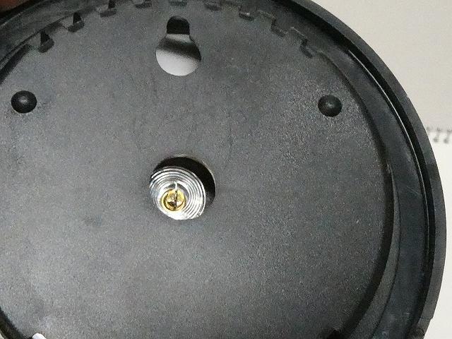 温湿度計の裏